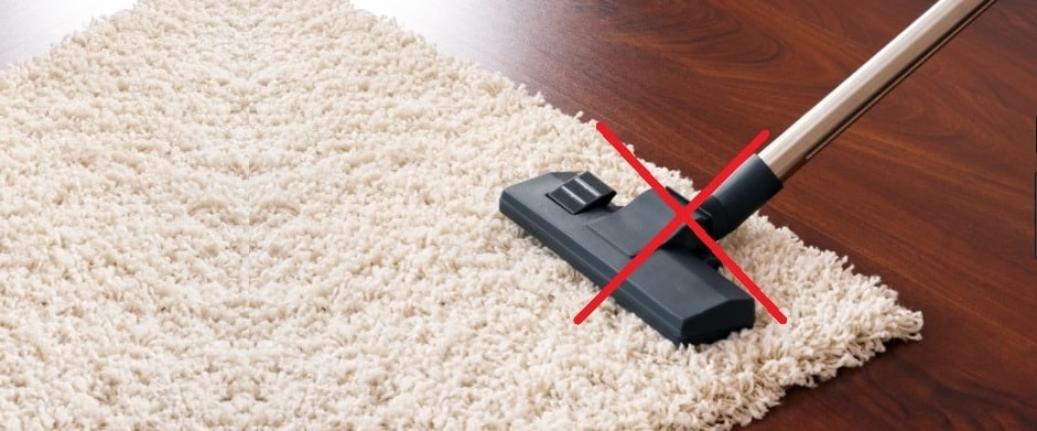 Why vaccuming is not best for your carpet