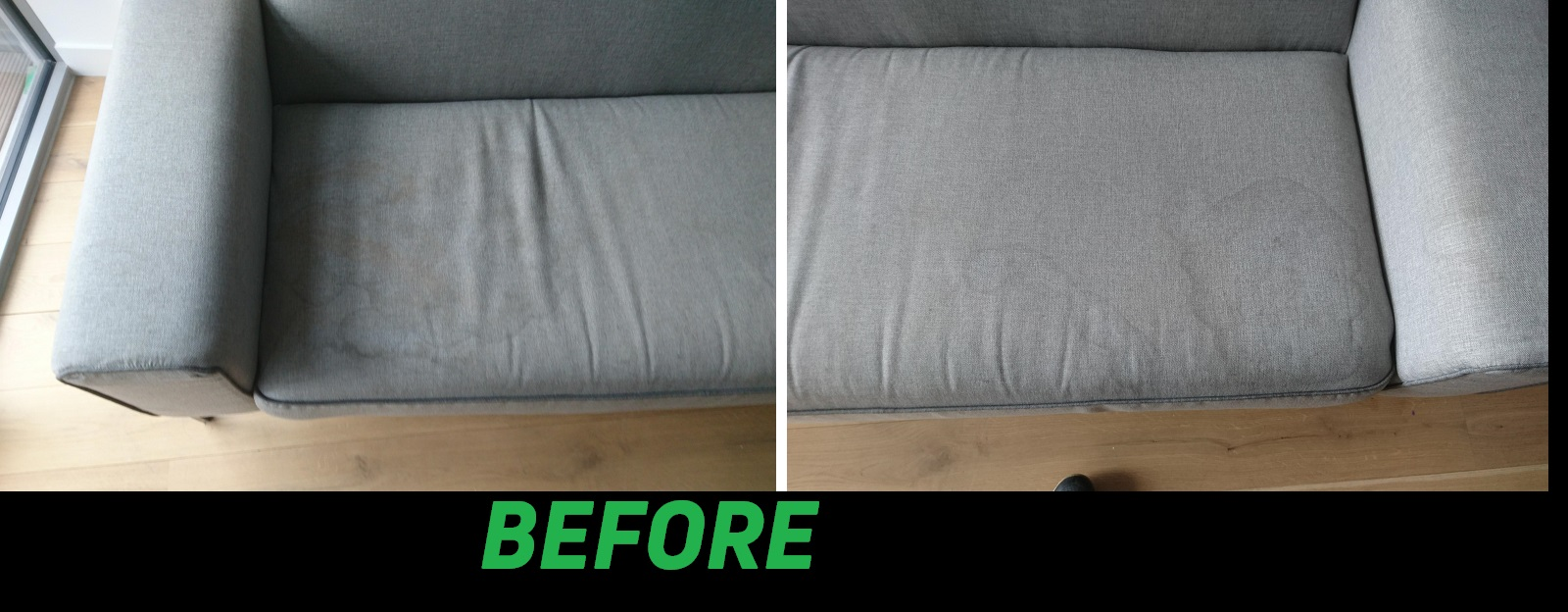 How it looks carpet cleaning before