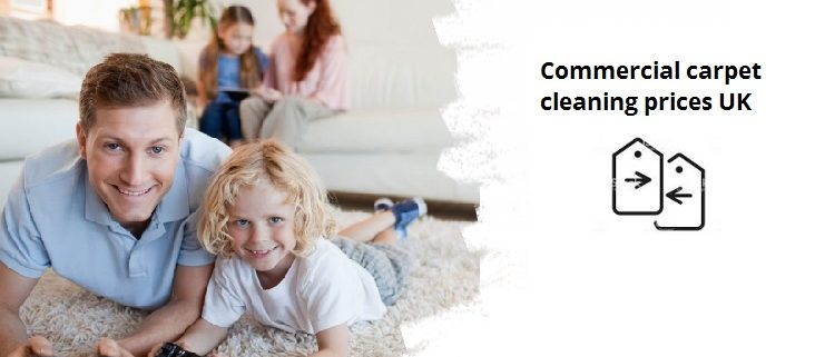 Commercial carpet cleaning prices in UK