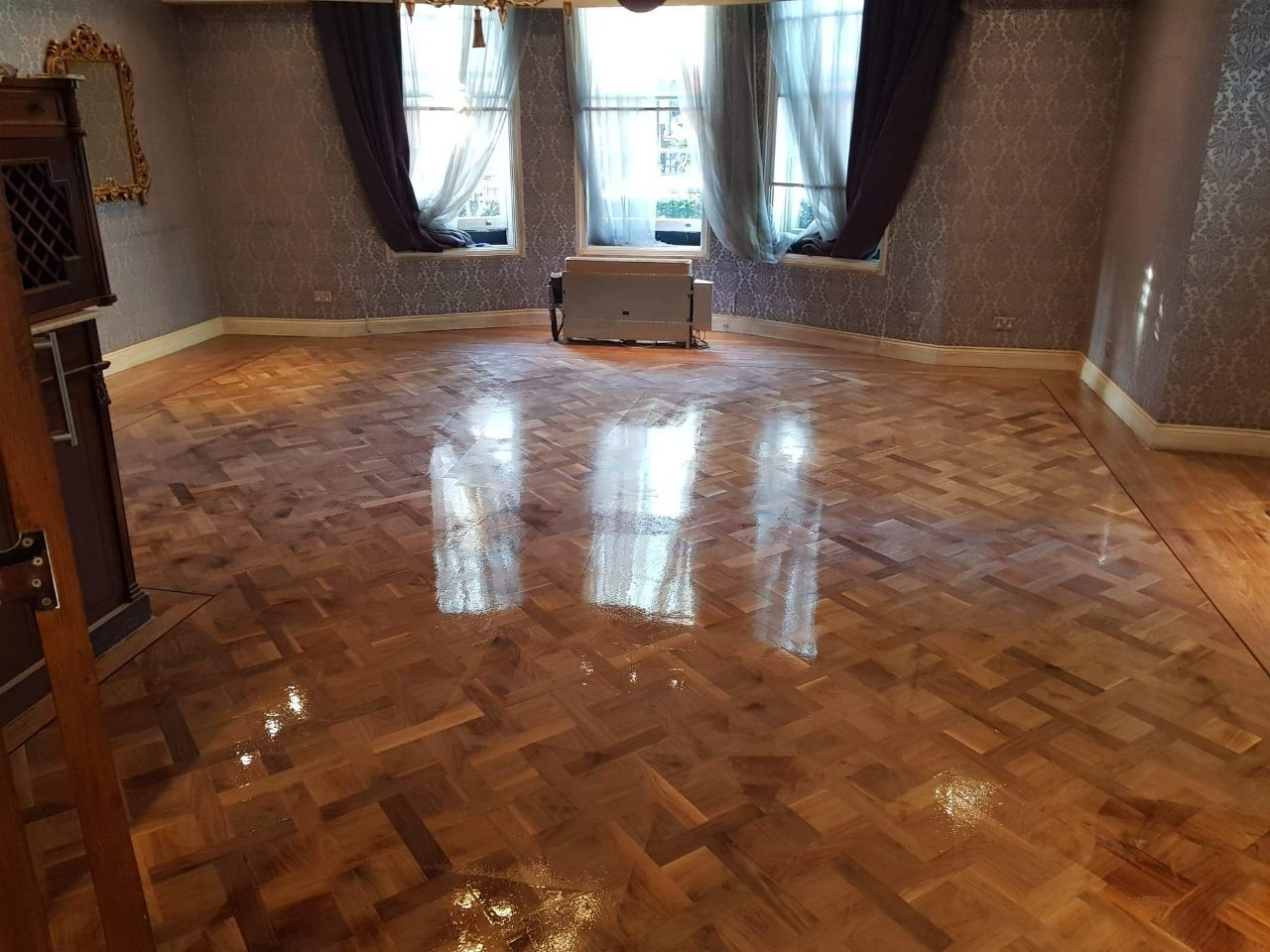 nostains wood floor polish